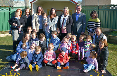 Family Day Care with Mayor of Bathurst
